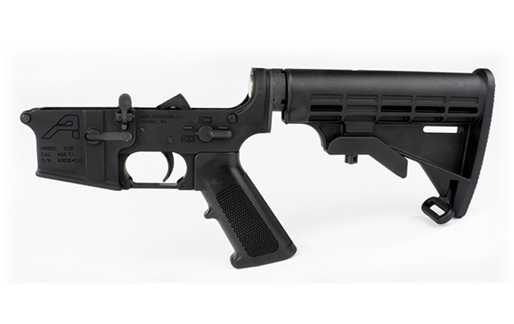 AR15 Complete Lower Receivers